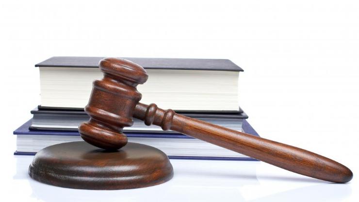 Marteau et livres de justice