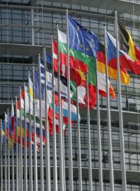 Drapeaux UE