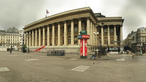 Palais Brongniart Bourse de Paris