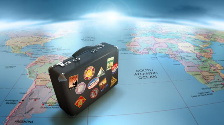valise et voyage