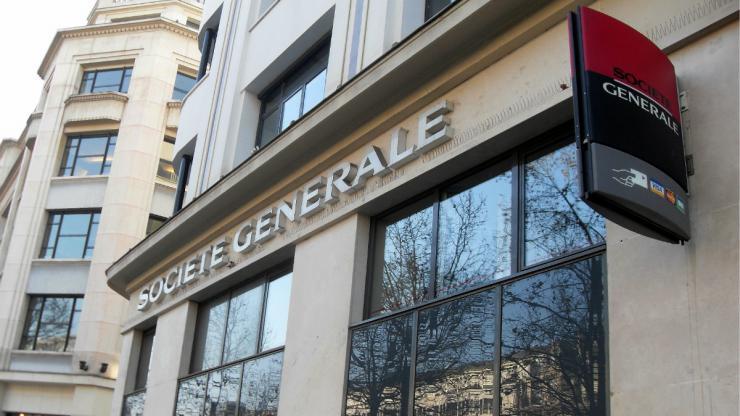 Agence Société Générale à Paris