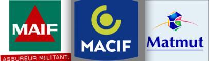 Logos Maif Matmut Macif