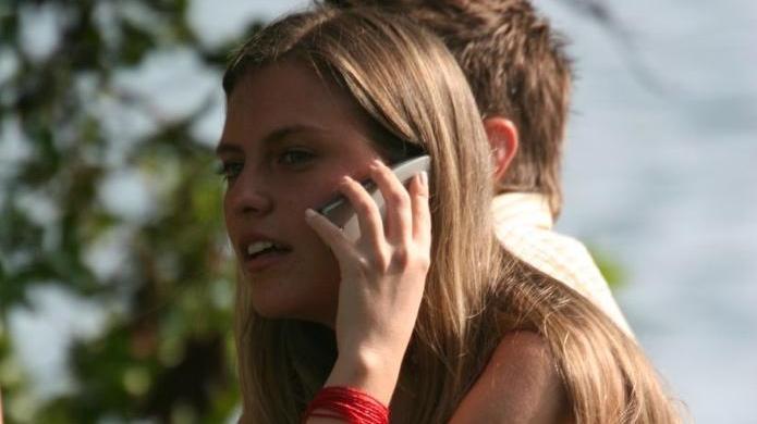 Coup de téléphone mobile