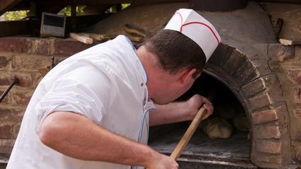 Boulanger à l'ancienne