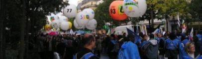 manifestation contre la réforme des retraites 19 octobre 2010