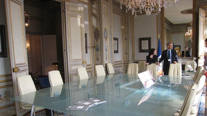 Salle de réunion du Conseil Constitutionnel