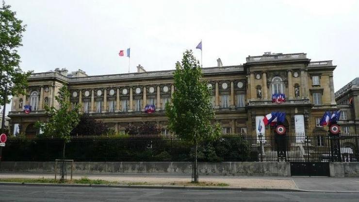 ministère des affaires étrangères, quai d'Orsay à Paris