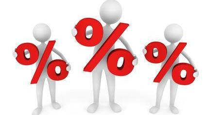 pourcentage, taux