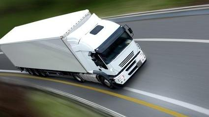 camion, transport, routier