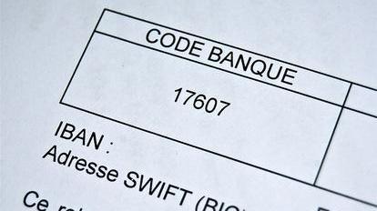 rib, banque