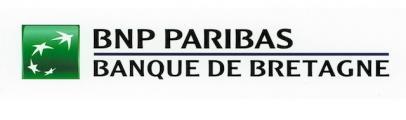 Logo BNP Paribas - Banque de Bretagne