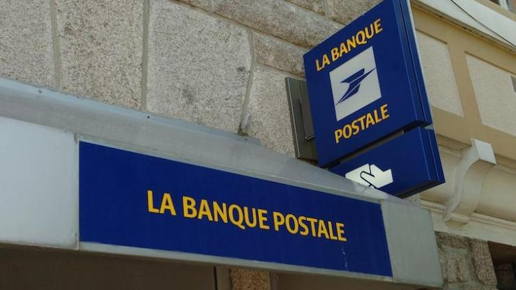 Enseigne La Banque Postale
