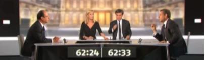 Débat présidentiel 2 mai 2012