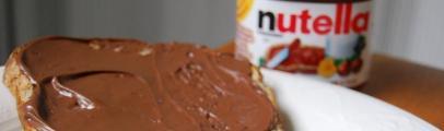 tartines de Nutella