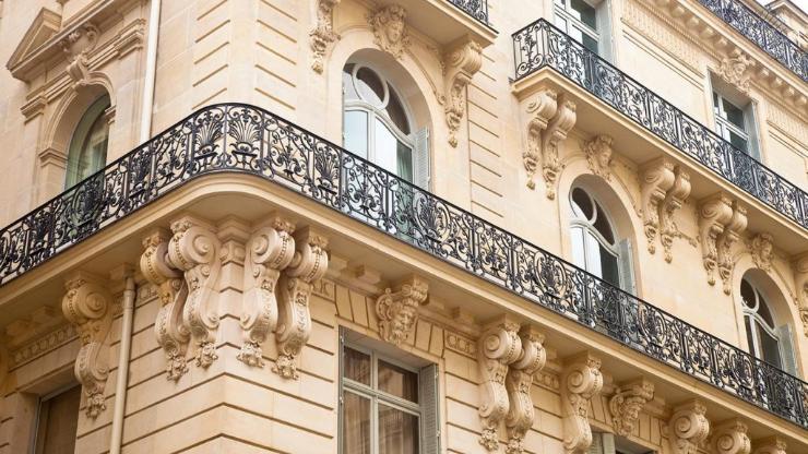 Immeuble ancien à Paris