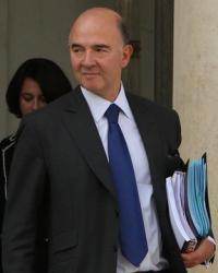 Pierre Moscovici, Palais de l'Elysée, 28 septembre 2012
