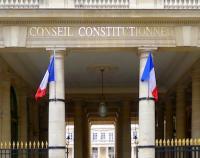 Devanture du Conseil constitutionnel