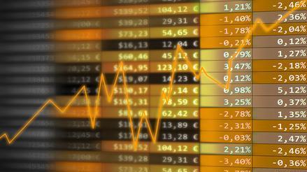 Indices et courbe boursiers