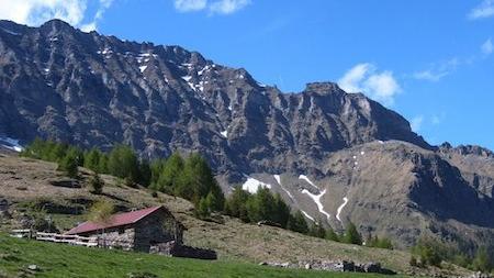 Une maison dans les Alpes