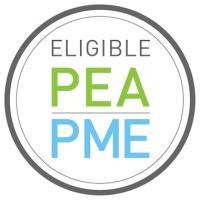 Logo du label PEA-PME fourni par Euronext
