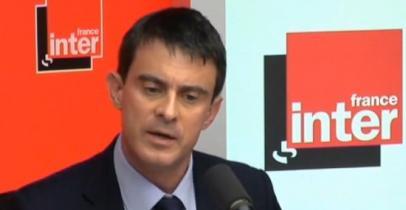 Manuel Valls, le 30 avril 2014, sur France Inter