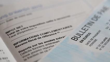 Revenu fiscal de référence sur un avis d'imposition