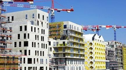 Des immeubles en construction