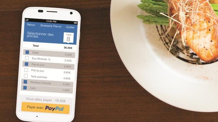 Paiement mobile PayPal