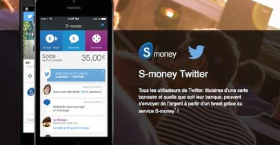 Service S-money Twitter