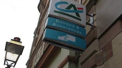 Une agence Crédit Agricole