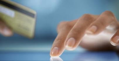 Paiement sur tablette numérique