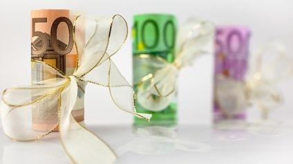 De l'argent en cadeau