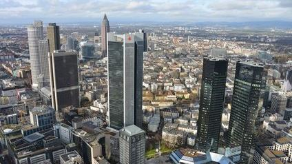 Siège de la Deutsche Bank à Francfort