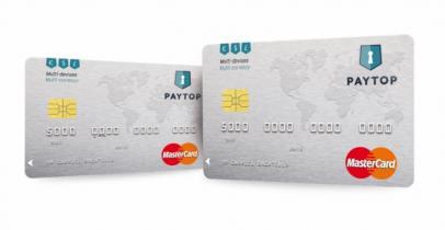 Carte multi-devises Paytop