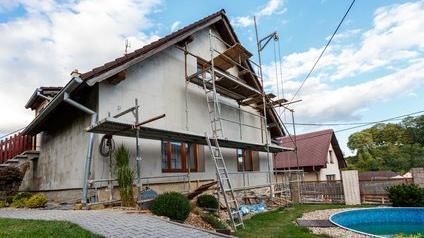 Vieille maison en rénovation