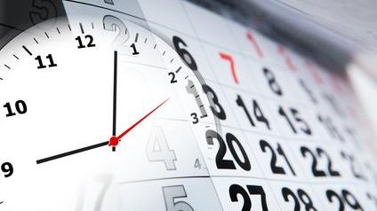 Calendrier et horloge