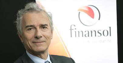 Frédéric Tiberghien, président de Finansol