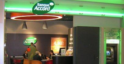 Une agence Banque Accord en France