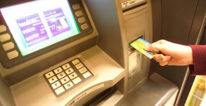 Un distributeur de billets de la Banque Accord