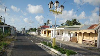 Rue de Port-Louis en Guadeloupe