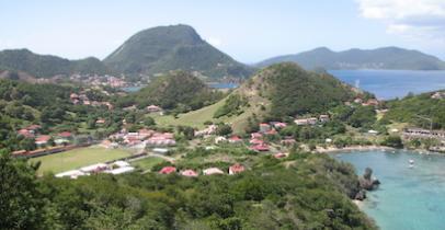 Les Saintes, en Guadeloupe