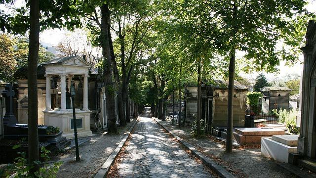Le cimetière du Père Lachaise en 2014