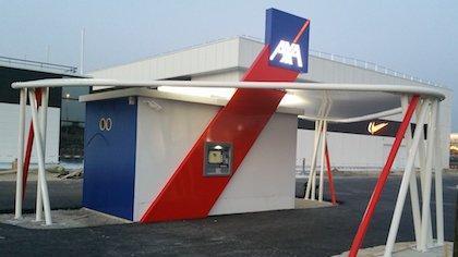 Le drive d'Axa Banque