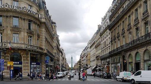 Rue de la Paix à Paris
