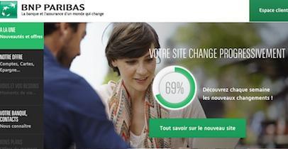 Site BNP Paribas