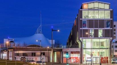 L'agence Metz-Pompidou de la Caisse d'Epargne
