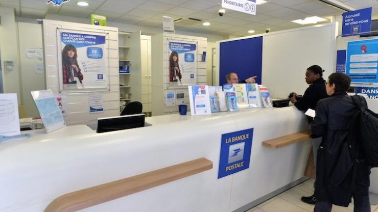 Guichet de la Banque Postale