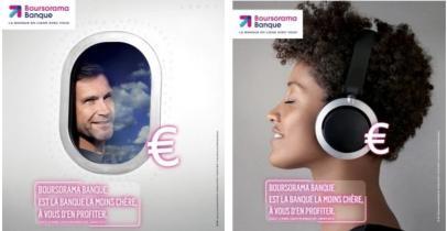 Campagne de pub Boursorama juin 2015