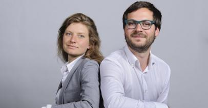 Laure Verhaeghe et Amaury Blais (Lendosphere)