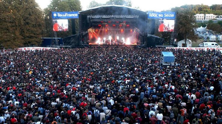 Le festival Rock en Seine en 2011